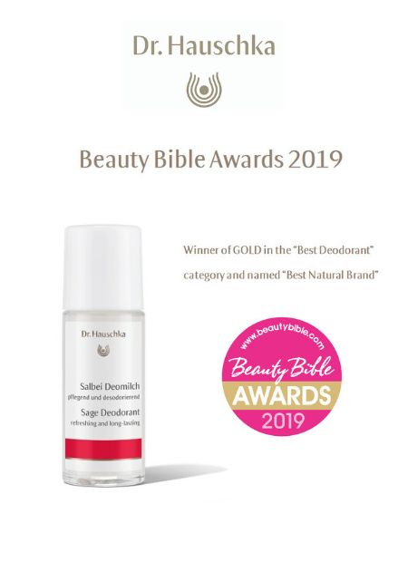 "Winner of GOLD in ""Best Deodorant"" category and Named ""Best Natural Brand"""
