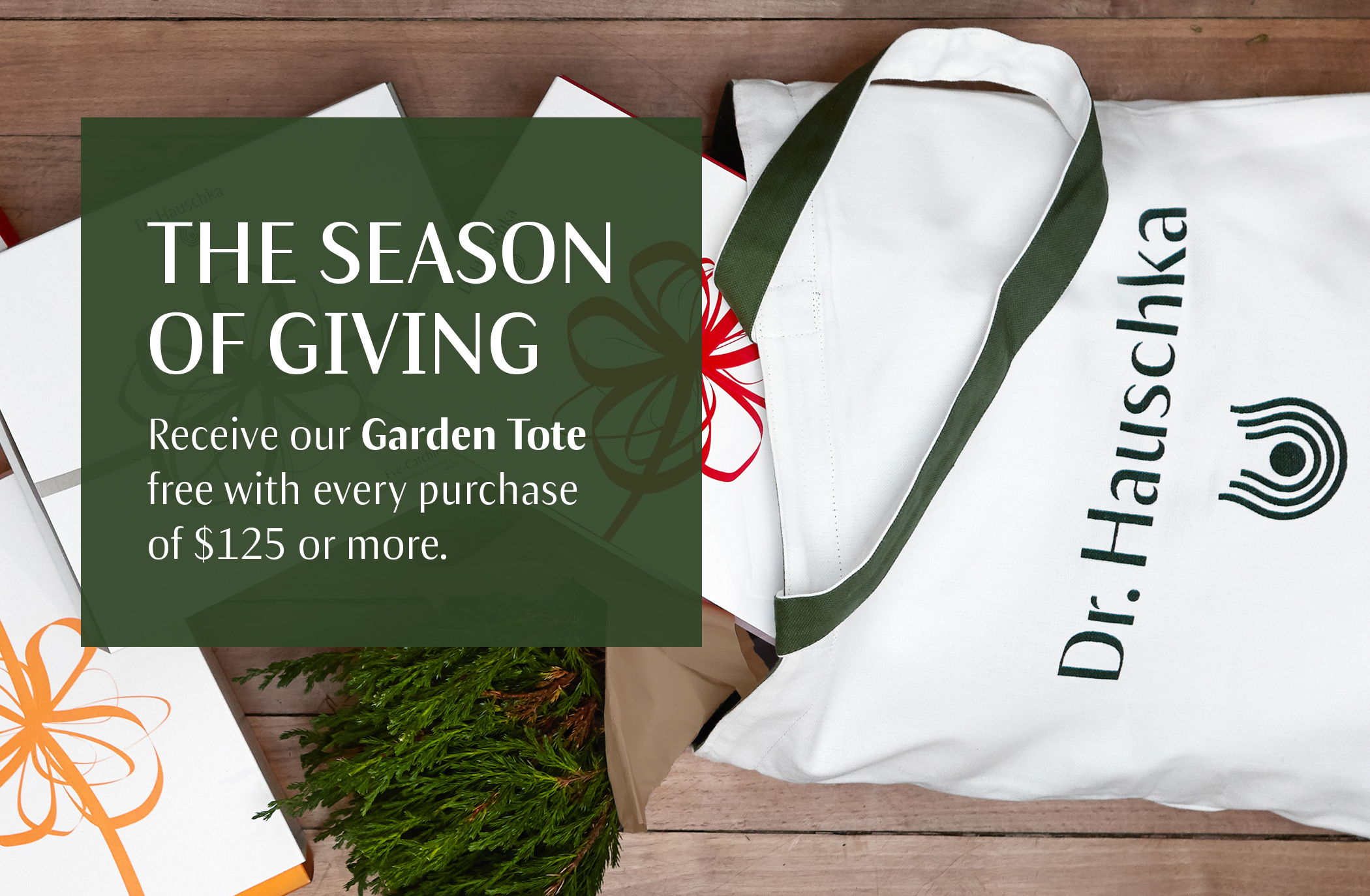 Garden Tote with $125+ Purchase